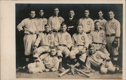 Group Picture of Baseball Players Postcard