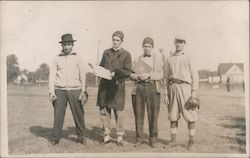 Group of Baseball Players Postcard