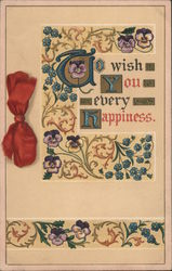 To Wish You Every Happiness Postcard