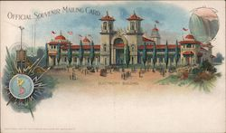Electricity Building - Pan American Exposition in Buffalo Postcard