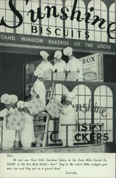Sunshine Biscuits Exhibit at New York World's Fair Postcard