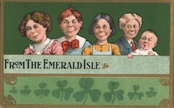 From the Emerald Isle Postcard