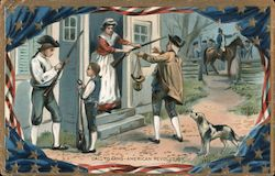 Call to Arms -- American Revolution Postcard