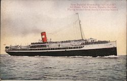 "New Palatial Steamship ""Avalon"" - Plying to and from Santa Catalina Island"