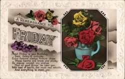 A Remembrance for Friday Postcard