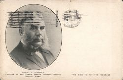 Eben D. Jordan, Founder of the Jordan Marsh Company Stores Postcard