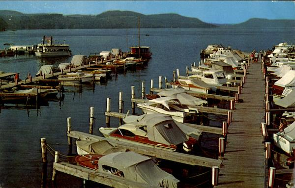 The Lake Front Motel Marina Cooperstown  New York