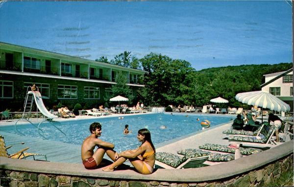 Pool At The Thompson House Windham New York