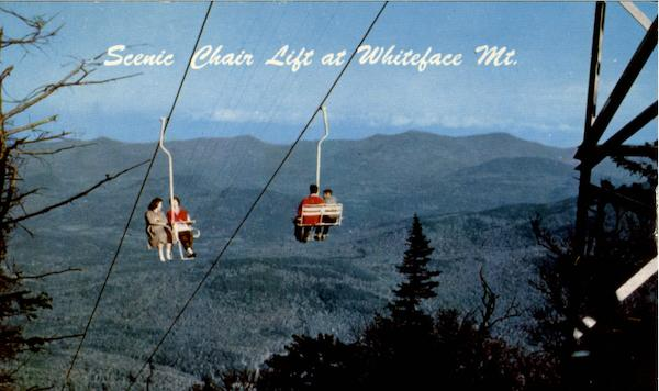 Scenic Chair Lift Whiteface Mountain New York