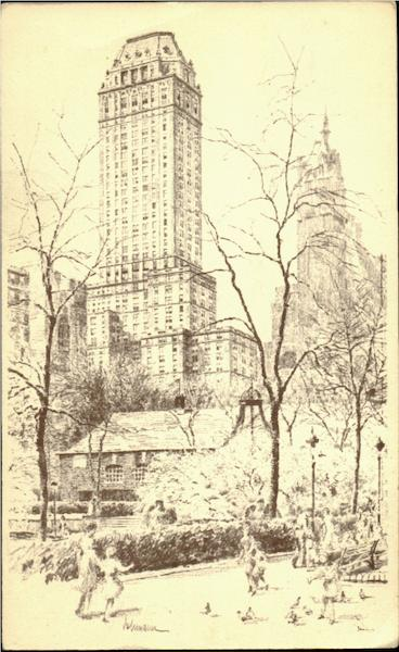 Hotel Pierre, Fifth Avenue At 61st Street New York City