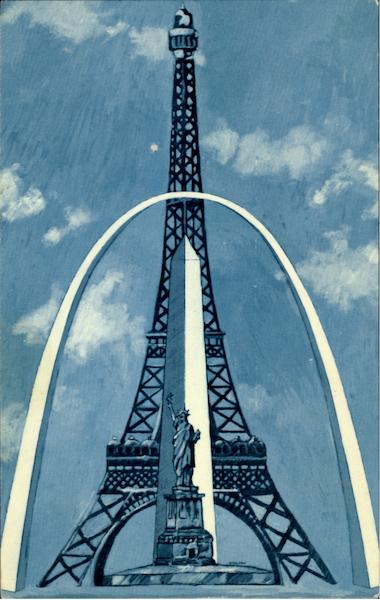 Height Of The Gateway Arch St Louis Mo