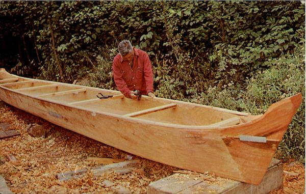 Indian Canoe Maker Manchester Washington Native Americana