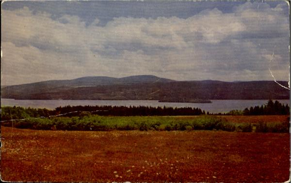 Rangeley Lakes And Mountains Maine