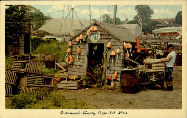 Fisherman's Shanty Cape Cod Massachusetts
