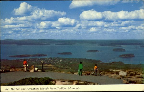 Bar Harbor And Porcupine Islands Maine