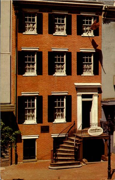 House Where Lincoln Died, 516 10th Street Washington District of Columbia