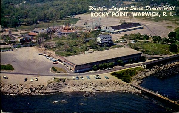 World's Largest Shore Dinner Hall, Rocky Point Warwick Rhode Island