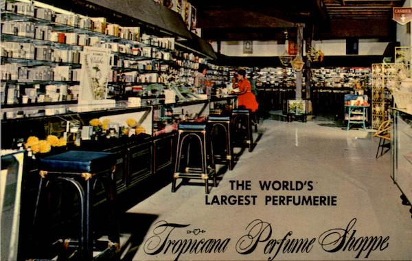 Tropicana Perfume Shoppe, Main St St. Thomas Virgin Islands
