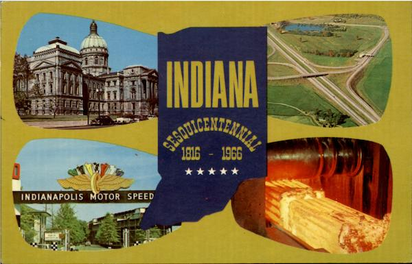 Indiana Sesquiceniennial Scenic