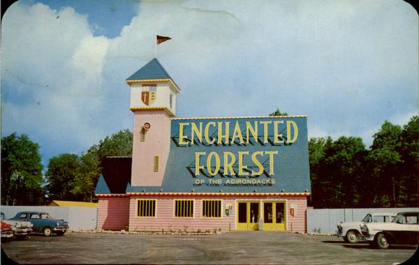 The Enchanted Castle Old Forge New York Amusement Parks
