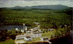 Aerial View Of Saranac Inn