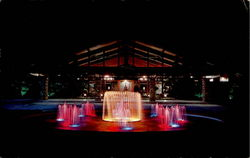 Lighted Fountain, Cape Coral Yacht and Racket Club