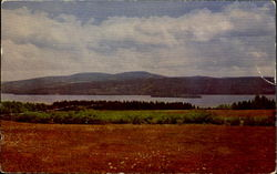 Rangeley Lakes And Mountains Postcard