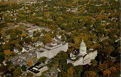 Air View Of Capitol Buildings