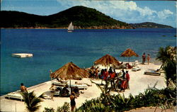 Caribbean Hotel & Beach Club Postcard