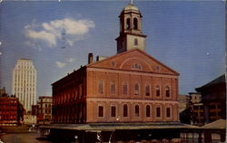 Faneuil Hall, Dock Square Postcard