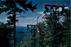 Aerial Chairlift, Mt. sunapee State Park