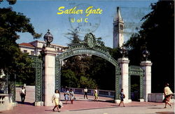 Sather Gate University Of California