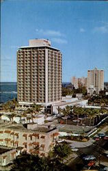 The Sheraton Hotel Postcard