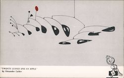 Twenty Leaves and an Apple - Terrace Plaza Hotel Postcard
