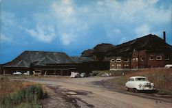 Canyon Hotel Yellowstone National Park Postcard
