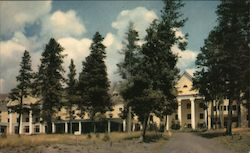 Lake Hotel on Yellowstone Lake Postcard