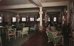 Lake Hotel Lounge Postcard