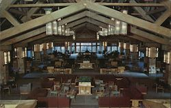 Canyon Hotel Lounge Postcard