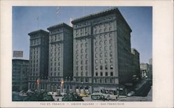 The St. Francis Hotel Postcard