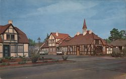 Royal Copenhagen Motel Postcard