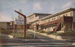 The Hillcrest Motel Postcard