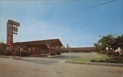 Sky Ranch Motel Postcard