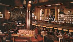 Ship Tavern The Brown Palace Hotel Postcard