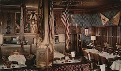 "Palace Arms - The Brown Palace Hotel ""Where The World Registers"" Postcard"