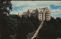 Thorson Hall Dormitory for Men St. Olaf College Postcard