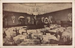 Town and Country Restaurant, 284 Park Avenue Postcard