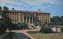 The University of Wisconsin, College of Agriculture and William Hoard Monument Postcard