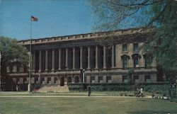 The Wisconsin State Historical Society Building Postcard