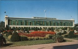 Tote Board in the Garden at Famous Churchill Downs, Home of the Kentucky Derby Postcard