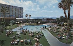 Sunbathers - Stardust Hotel and Country Club Postcard